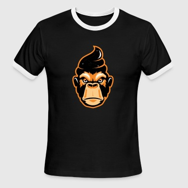 Monkey cool - Men's Ringer T-Shirt