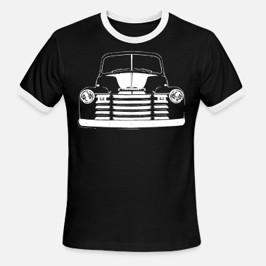 1950 Chevrolet 3100 Suburban 1947 1948 1950 1951 1952 1 - Men's Ringer T-Shirt