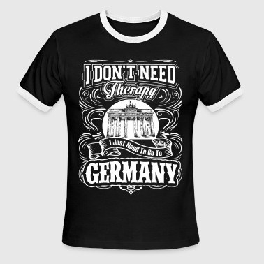 East Need to go to Germany - I don't need therapy - Men's Ringer T-Shirt