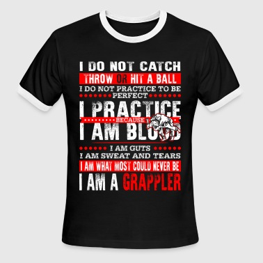 Grappler - Grappler - i am a grappler - Men's Ringer T-Shirt