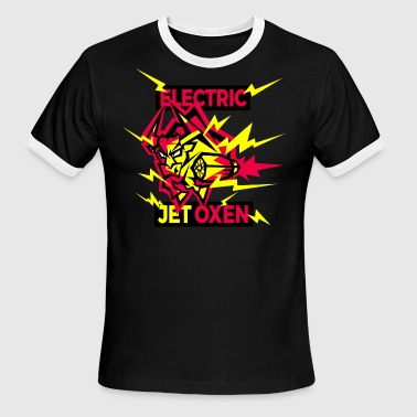 Electric Jet Oxen - Men's Ringer T-Shirt