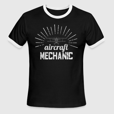 Aircraft Mechanic - Men's Ringer T-Shirt