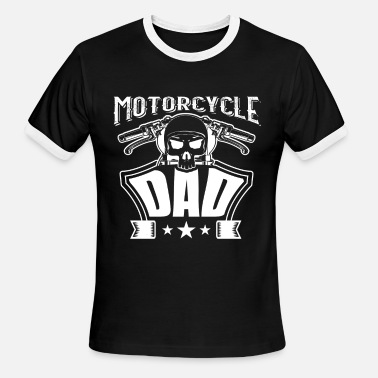 Motorcycle Dad Motorcycle Dad - Men's Ringer T-Shirt