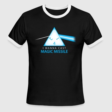 Magic Missile - Men's Ringer T-Shirt