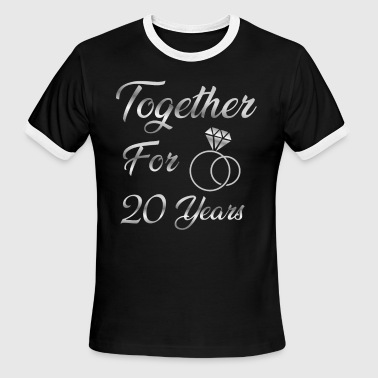 Together for 20 years - Men's Ringer T-Shirt