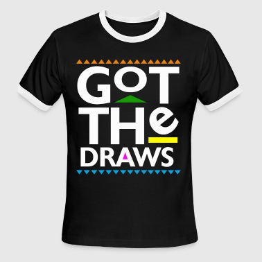 Martin Payne Got The Draws - Men's Ringer T-Shirt
