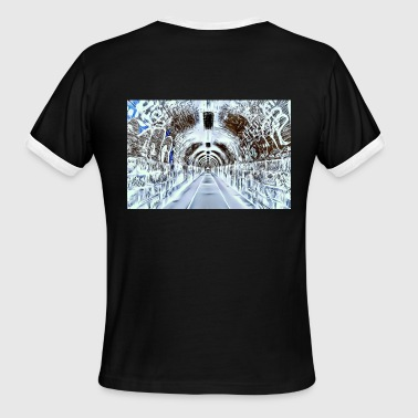 Electricity Graffiti DC 119 e copia X-Ray Version - Men's Ringer T-Shirt