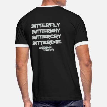 Butterwhy.png T-Shirts - Men's Ringer T-Shirt