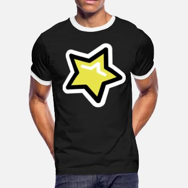 Pop Star Pop Star, Star, Trendy Star - Men's Ringer T-Shirt