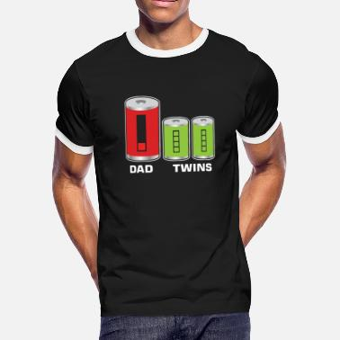 For Twins Funny dad twins - Men's Ringer T-Shirt