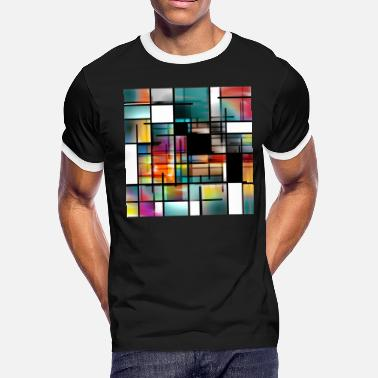 Modern Art Modern Art Abstract - Men's Ringer T-Shirt