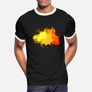Splatter Paint Splatter - Men's Ringer T-Shirt