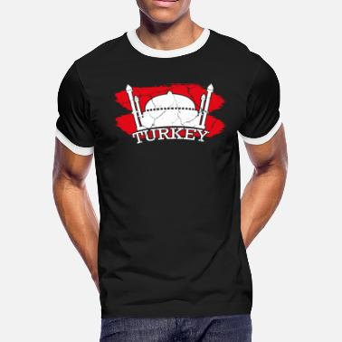 Ankara Turkish Turkey Instanbul Ankara gift turkish - Men's Ringer T-Shirt