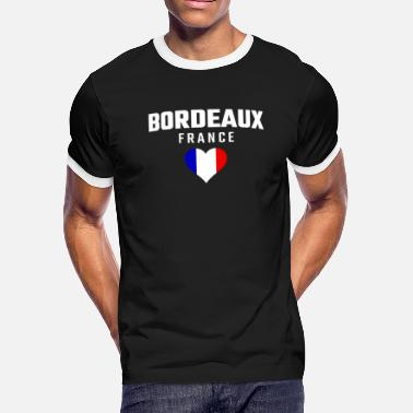 Bordeaux Bordeaux France - Men's Ringer T-Shirt