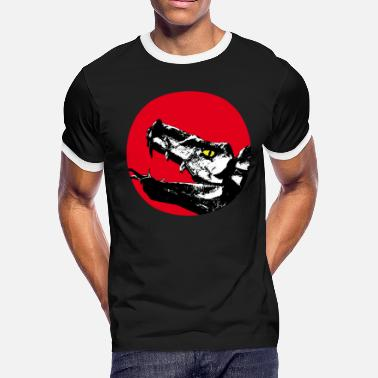 Dragon Head dragon head - Men's Ringer T-Shirt