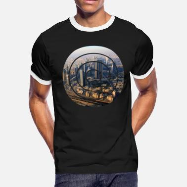 Circle City city - Men's Ringer T-Shirt