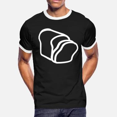 Slice-of-bread Sliced Bread - Men's Ringer T-Shirt