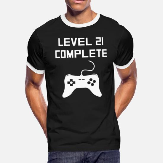 331907ff91 Front. Back. Design. Front. Back. Design. Front. Back. Design. Design.  Front. Back. Birthday T-Shirts - Level 21 Complete Video Games 21st ...
