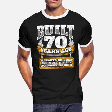 70 Years Old Womens Birthday Gift 70th Idea Built Ago Shirt