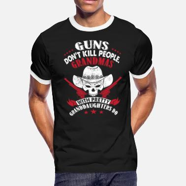 Guns Grandma Guns Don't Kill People Grandmas T Shirt - Men's Ringer T-Shirt