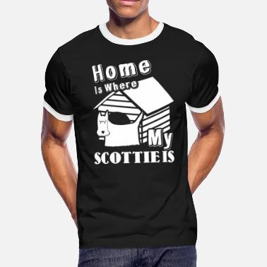 Scottie Tee Shirt - Men's Ringer T-Shirt