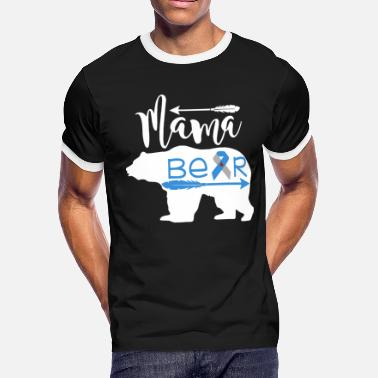 Type One Type One Diabetes Mama Bear - Men's Ringer T-Shirt