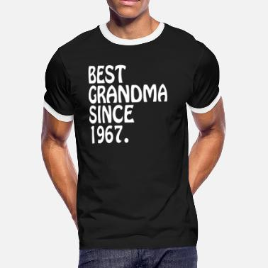 Clothes For Grandma The Best Grandma 1967 Best Grandma Clothes - Men's Ringer T-Shirt