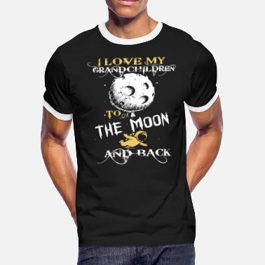 I Love My Grandchildren To The Moon And Back I Love Grandchildren To The Moon And Back T Shirt - Men's Ringer T-Shirt