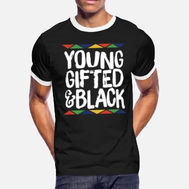 Gifted young gifted and black daughter t shirts - Men's Ringer T-Shirt