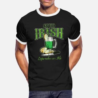 Al Green Spud Irish Leprechaun Ale - Men's Ringer T-Shirt