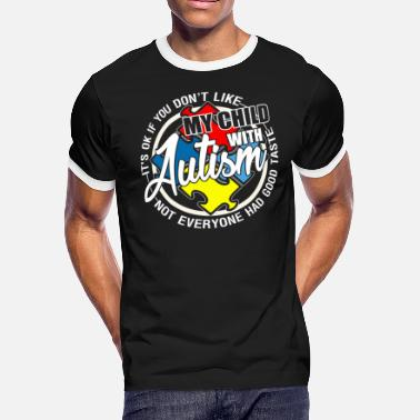 Autism Child My Child With Autism T Shirt - Men's Ringer T-Shirt