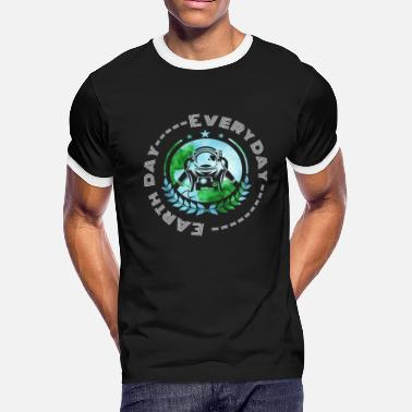 Greenpeace Astronaut Space Earth Day - Men's Ringer T-Shirt