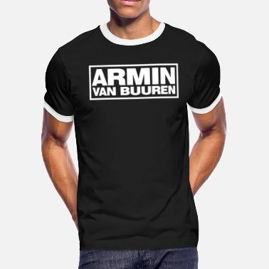 Trance armin van buuren shirt house trance edm electric - Men's Ringer T-Shirt