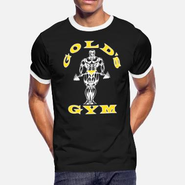Golds Gym Golds Gym Men s Bodybuilding Stringer Tank Top Mus - Men's Ringer T-Shirt