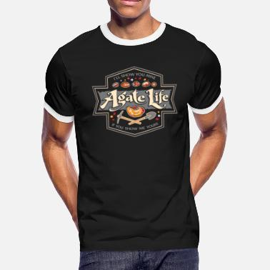 Rock Collector Agate Life I'll Show You Mine if You Show Me Yours - Men's Ringer T-Shirt