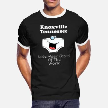 Tennessee Funny Funny Knoxville Tennessee Underware - Men's Ringer T-Shirt