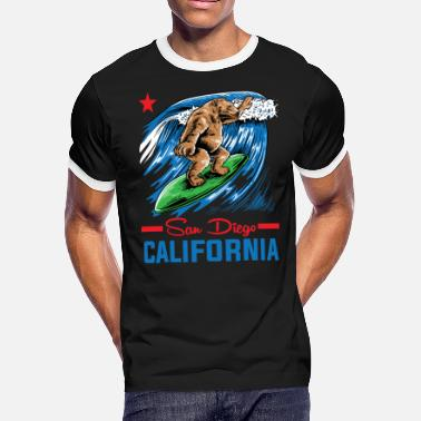 Shop Surf San Diego T-Shirts online | Spreadshirt