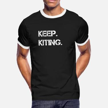 Kiteboards Kiteboarding - Men's Ringer T-Shirt