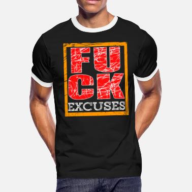 Bonk This is the perfect tee for excuse haters out - Men's Ringer T-Shirt