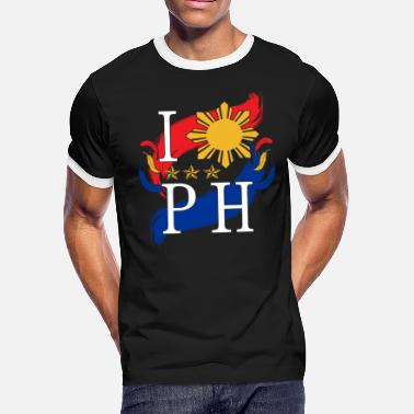 Philippines Filipino Gift Country Manila Vacation - Men's Ringer T-Shirt