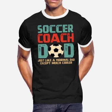 e7b95b0134 Soccer Coach Dad Soccer Coach Dad Fathers Day Gift T-Shirt - Men'