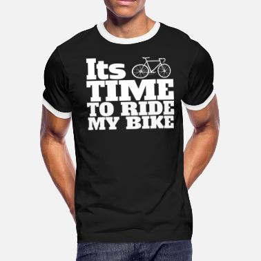 Racing Bike racing bike - Men's Ringer T-Shirt