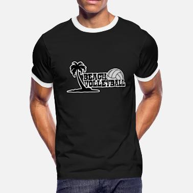 Beach Volleyball Beach Volleyball beach - Men's Ringer T-Shirt