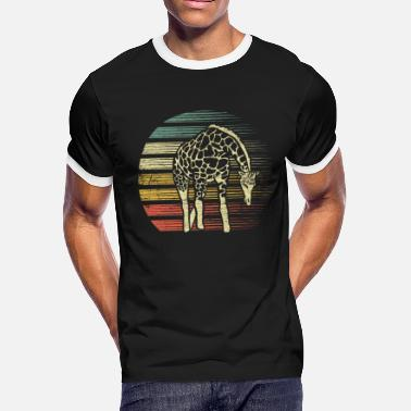 Savanna Giraffe Gift - Men's Ringer T-Shirt
