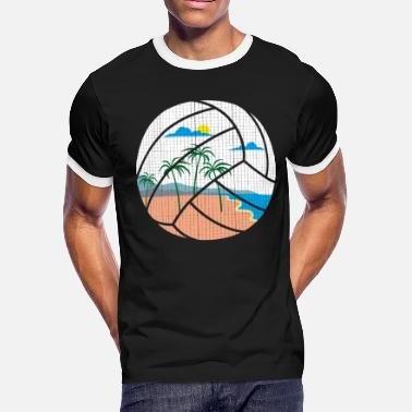 North Rhinewestphalia Beach Volleyball - Men's Ringer T-Shirt