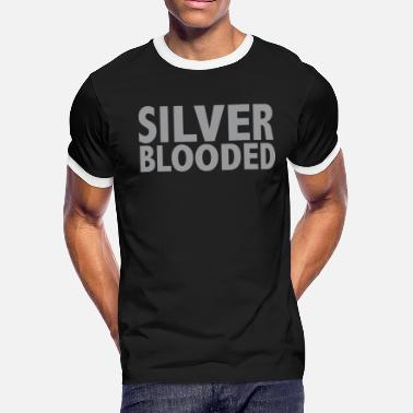 Casper Birth SILVER BLOODED - Men's Ringer T-Shirt