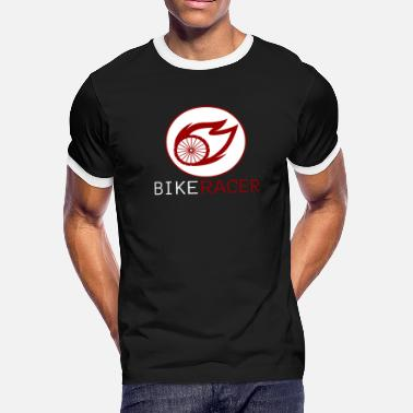 Bike Racer Bike Racer - Men's Ringer T-Shirt
