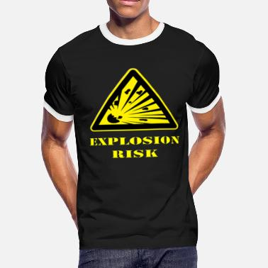 Explosives Explosion Risk - Men's Ringer T-Shirt
