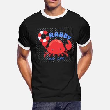 Claw Crabby but Cute - Men's Ringer T-Shirt