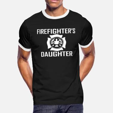 Daughter Firefighter Daughter Firefighter - Men's Ringer T-Shirt